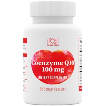Coenzyme Q10 100 mg<br />(60 capsules)
