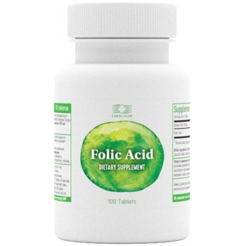 Folic Acid (100 tablets)