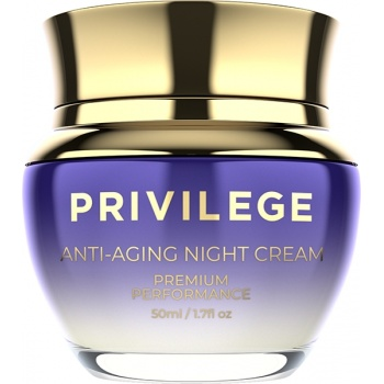 Privilege Face and neck anti-aging night cream<br />(50 ml)