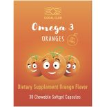 Omega 3 Oranges (30 chewable capsules)